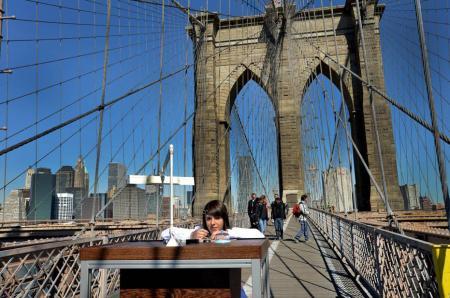 Le Pont de Brooklyn pour atelier…