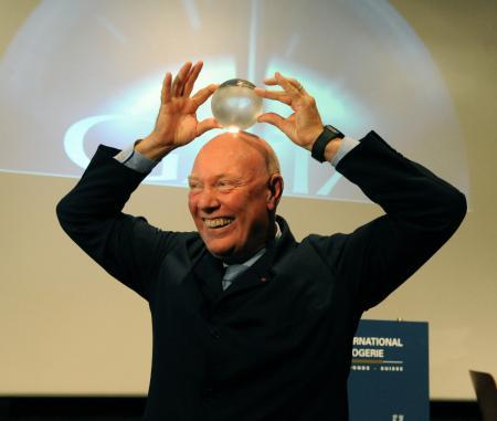 Monsieur Jean-Claude Biver, Lauréat du Prix Gaïa 2010