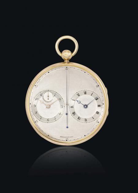 La Breguet n°2667 : une montre de poche plate de 1814 avec deux mouvements.