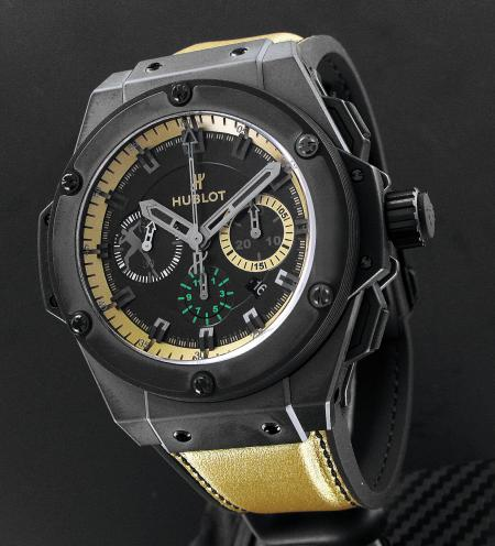 La King Power Usain Bolt : un chronographe pour champion.