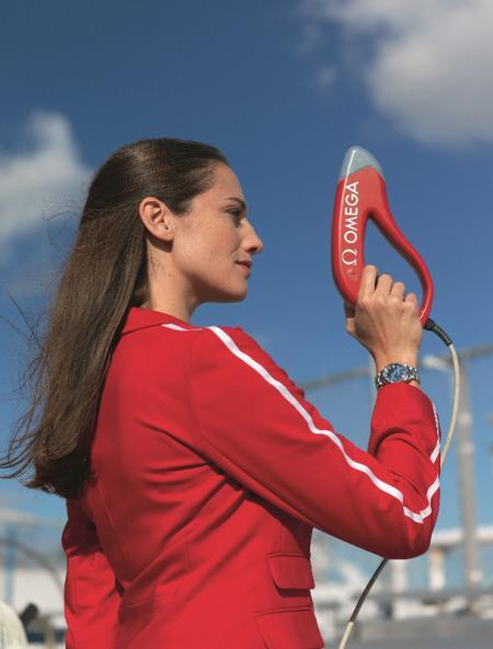 Pistolet de starter Omega pour les Jeux Oypiques 2012.