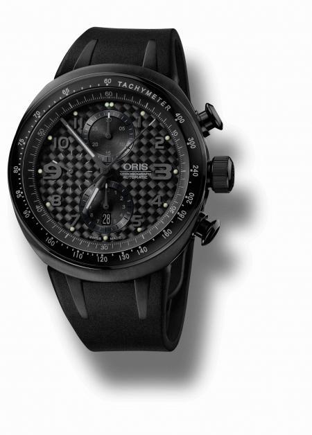L'Oris TT3 Chronograph Black.