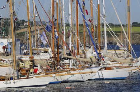 Le 2 décembre 2012, de superbes voiliers largueront les amarres pour traverser l'Atlantique. ©Jacques Vapillon