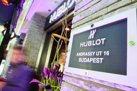 Une prestigieuse adresse pour la boutique Hublot de Budapest…