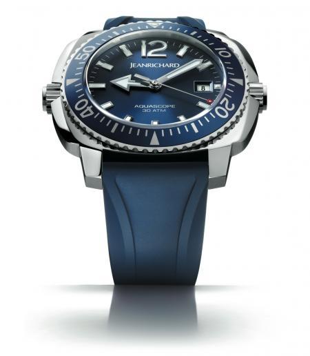 La montre de plongée Aquascope de JeanRichard.