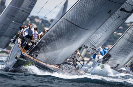 Giraglia Rolex Cup 2012 - Compétition dans la baie de Saint-Tropez