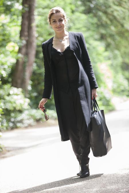 Audrey Dana, ambassadrice de la collection Piaget Rose et membre du jury.