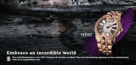 L'univers de la Diva pour la Velvet de Roger Dubuis.