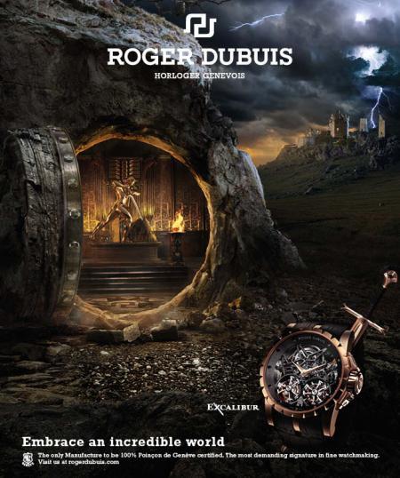 L'univers du Warrior pour l'Excalibur Tourbillon de Roger Dubuis.