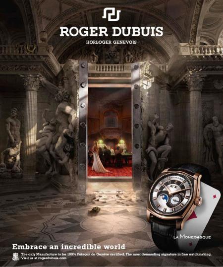 L'univers du Player pour La Monégasque de Roger Dubuis.