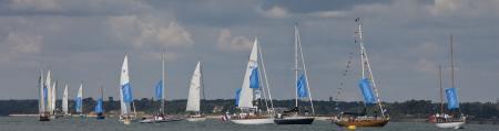 La onzième édition de la Panerai British Classic Week : plus de 70 voiliers d'époque et classique prêts à s'affronter.