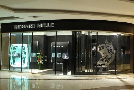 La nouvelle boutique Richard Mille à Hong Kong est située dans le quartier de West Kowloon.