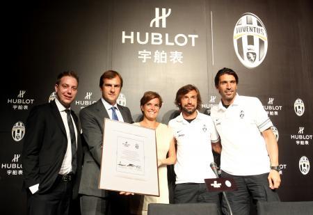 Hublot devient Chronométreur Officiel et Montre Officielle de la prestigieuse Juventus de Turin.
