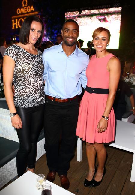 Jenn Suhr, Tyson Gay et Jessica Ennis, ambassadeurs Omega.