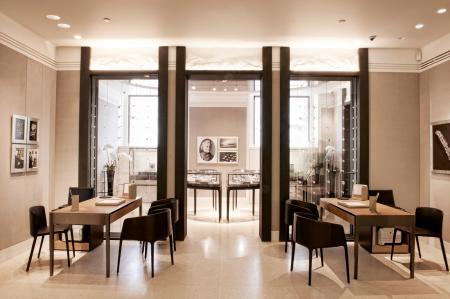 Le nouveau visage de la boutique Jaeger-LeCoultre Place Vendôme.