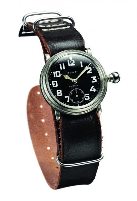La montre Zenith de Louis Blériot.