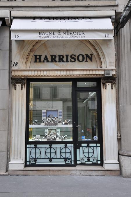 Harrison rue de la Paix à Paris.