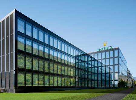 Nouveau bâtiment Rolex, Bienne. ©Rolex/Roger Frei