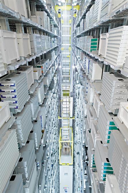 Rolex, Stock automatique, Bienne. ©Rolex/Christoph Stöh Grünig