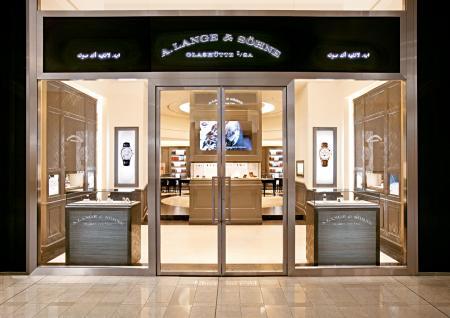 La nouvelle boutique A.Lange & Söhne à Dubaï.