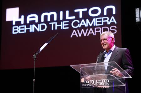Harrison Ford lors de la 6ème édition des Hamilton Behind the Camera Awards.©Hamilton International Ltd