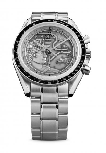 "La Speedmaster Moonwatch ""Apollo XVII"" d'Omega."