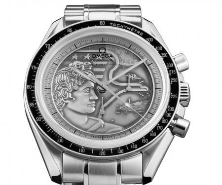 """La Speedmaster Moonwatch """"Apollo XVII"""" d'Omega : une édition limitée à 1972 pièces."""
