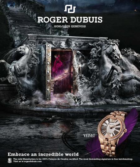 La campagne de publicité Roger Dubuis a remporté le premier prix du Jury - catégorie Print/Affichage - décerné le 26 octobre 2012 par la maison d'édition suisse Ringier.