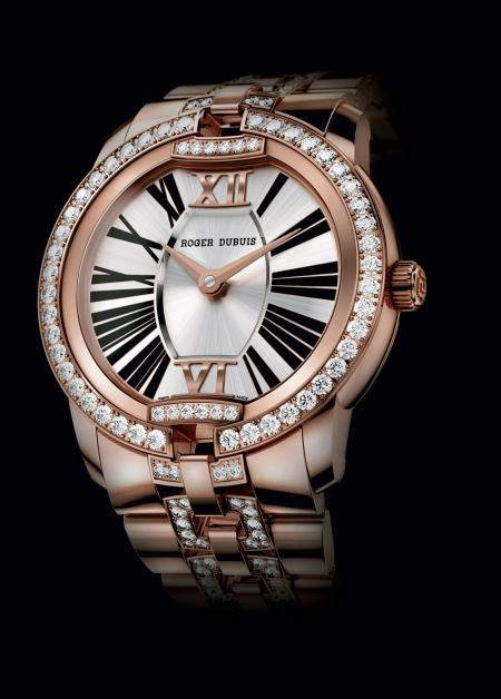 La montre Velvet en or rose sertie remporte le 2ème Prix du Jury (Montres Passion).