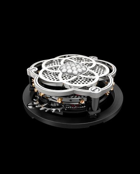 Chanel Première Tourbillon Volant - Focus sur le tourbillon