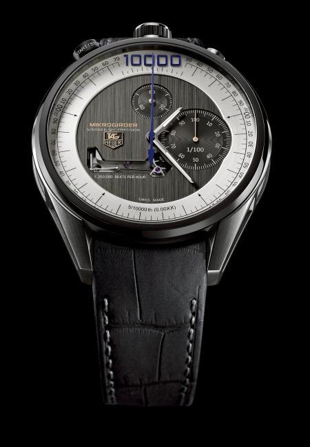 Le chronographe TAG Heuer Mikrogirder a remporté le prix de l'Aiguille d'or 2012.