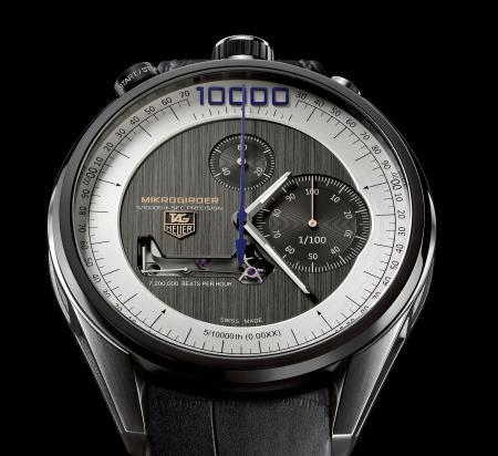 Le chronographe TAG Heuer Mikrogirder - Zoom.