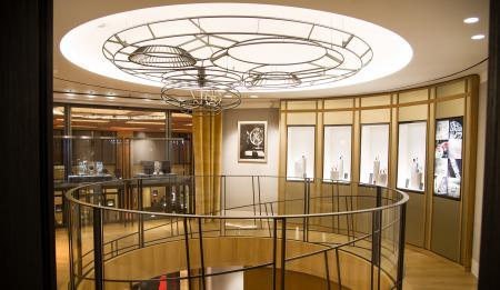Boutique Jaeger-LeCoultre, Place Vendôme à Paris. ©Getty