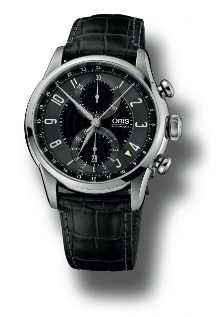 Le nouveau Chronographe Oris RAID 2012 en édition limitée : une montre classique pour faire honneur au prestige de la Cadillac 1942.