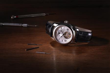 Montre Frédérique Constant Heart Beat Manufacture.