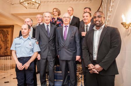 Les 12 lauréats 2012 de l'Excellence Française.