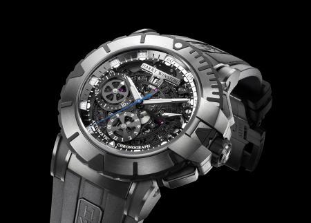 L'Ocean Sport Chronograph : un modèle de montre signé Harry Winston.