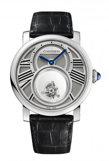 Montre Rotonde de Cartier Double Tourbillon Mystérieux