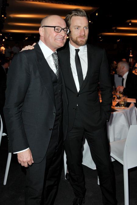 Georges Kern et Ewan McGregor. ©Photopress/IWC
