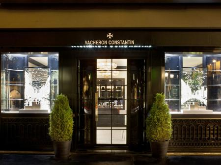 Nouvelle boutique Vacheron Constantin à Paris
