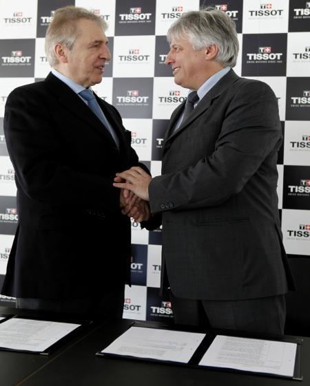 Le partenariat entre Tissot et la FISU est scellé…
