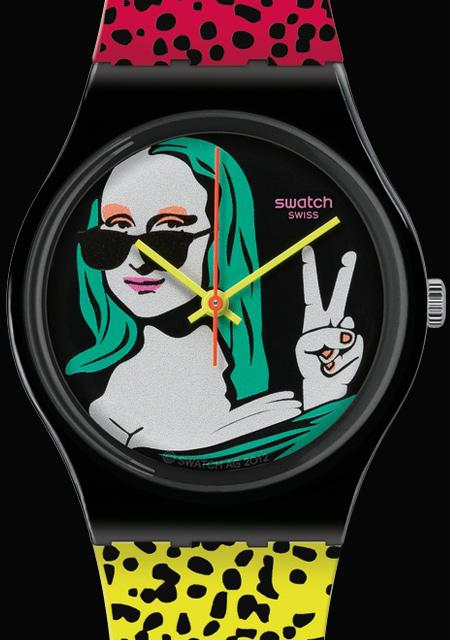 Swatch Lisa Fan