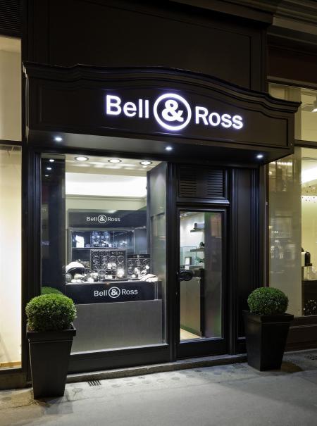 La boutique Bell & Ross à Vienne en Autriche.