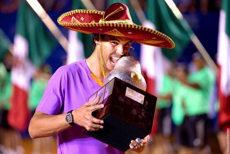 Rafael Nadal, vainqueur du tournoi d'Acapulco.