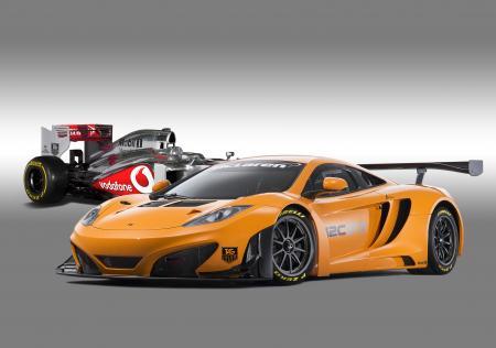 GT et Formule 1 McLaren.
