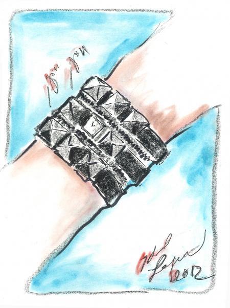 Karl Lagerfeld Zip manchette.