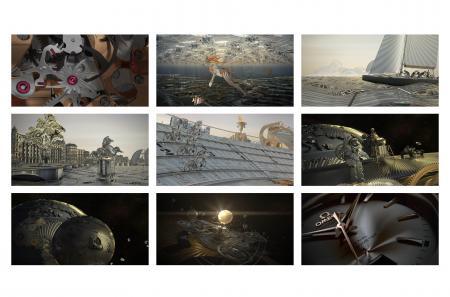 Nouveau film publicitaire Omega pour la 3D calibre co-axial