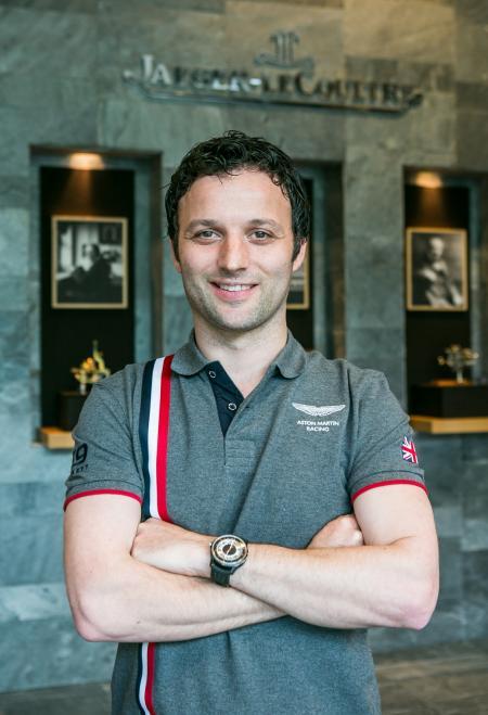 Darren Turner, le pilote officiel de la marque anglaise
