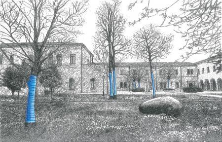 Les dessins de Lucio Micheletti inspirés du projet « Blue Forest »