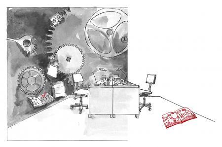 Cartier 5 - La décoration et l'assemblage du mouvement - H5 ©